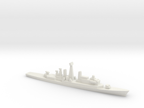 ITS Impavido-class DDG, 1/1800 in White Natural Versatile Plastic