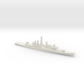 ITS Impavido-class DDG, w/ barrels, 1/3000 in White Natural Versatile Plastic