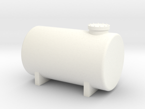 HO Fuel Tank 10m³ in White Processed Versatile Plastic