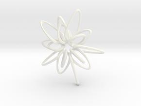 5 Star Hotel - 4.5cm in White Processed Versatile Plastic