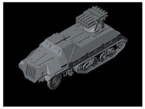 1/120 sd.kfz.4/1 15cm Panzerwerfer 42 in Smooth Fine Detail Plastic