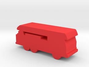 Game Piece, Ladder Truck in Red Processed Versatile Plastic