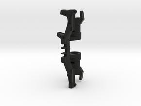XL Axle Left Servo Kit (v1 CHubs) For Steering Con in Black Natural Versatile Plastic