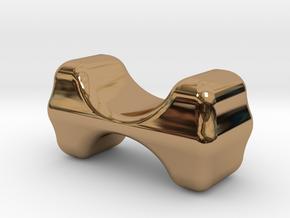 CHOPSTICKS HOLDER in Polished Brass