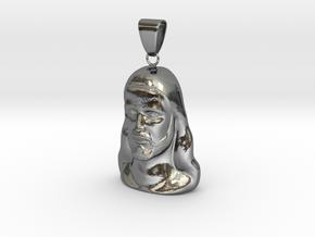 Jesus model  in Fine Detail Polished Silver