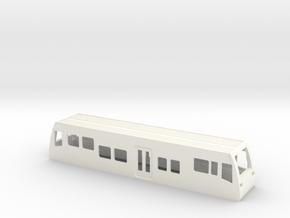 Gehäuse LVT Burgenlandbahn HO 1/87 in White Processed Versatile Plastic