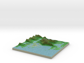 Terrafab generated model Thu Oct 15 2015 15:19:53  in Full Color Sandstone