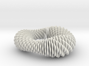 Fusilli 843 in White Natural Versatile Plastic