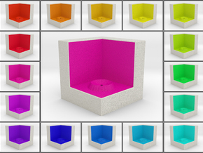 LuminOrb 2.6 - Cube Stand in Full Color Sandstone