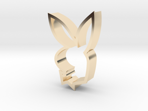 Iconic Bunny in 14k Gold Plated Brass