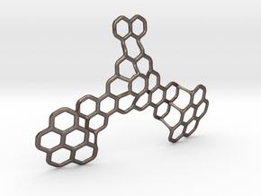 Hex Honeybird - 9cm in Stainless Steel