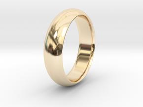 Wedding ring in 14K Gold