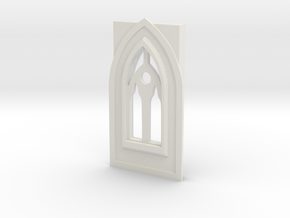 Window type 6 in White Natural Versatile Plastic