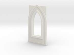 Window type 5 in White Natural Versatile Plastic