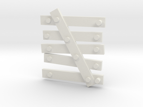 window Barricade type 2 in White Natural Versatile Plastic