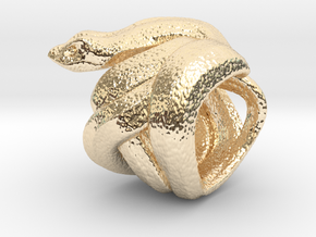Snake No.2 in 14K Gold