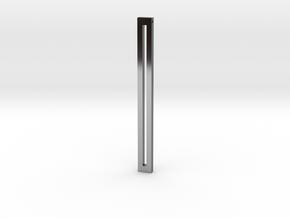 Death Penalty Pendant in Premium Silver