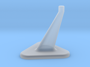Model Stand / 3mm diameter on top in Smooth Fine Detail Plastic