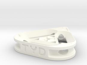 tritium: TriRad pendant in White Processed Versatile Plastic