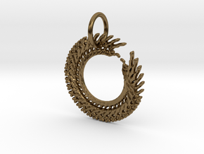 Creator Pendant in Polished Bronze