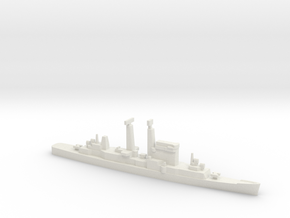 Albany-Class Cruiser, 1/2400 in White Natural Versatile Plastic