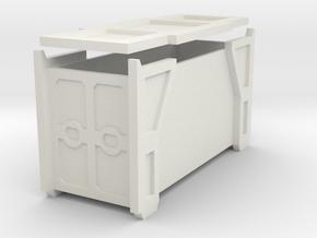 Techno-ark in White Natural Versatile Plastic