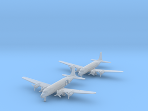 1/700 C-54/DC-4 w/gear x2 (FUD) in Smooth Fine Detail Plastic