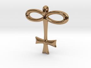 GLASS Alchemy Jewelry Symbol in Polished Brass