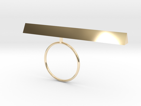 natalie in 14K Yellow Gold