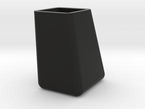 Voetje voor Rietveld Pyramide Stoel in Black Natural Versatile Plastic