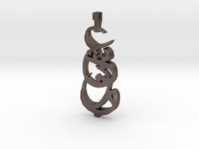 Eshgr in Polished Bronzed Silver Steel