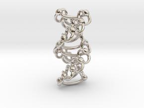 DNA Helixa - 25mm in Platinum