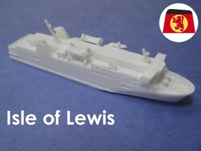 MV Isle of Lewis (1:1200) in White Natural Versatile Plastic