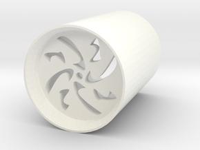 safety blade plug v5 for led lightsabers in White Processed Versatile Plastic
