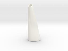 Organic Vase 3.0 (Small) - Ceramic in Gloss White Porcelain