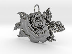 A Rose By Any Other Name in Polished Silver