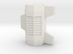 Space Container Model for tabletop games in White Natural Versatile Plastic