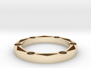 Calculations in 14K Yellow Gold