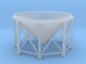 Silo Base in Smoothest Fine Detail Plastic