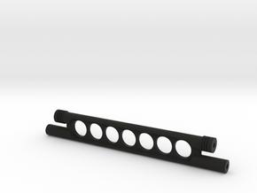 416002-01 Tamiya Rising Fighter Susp. Crossbar in Black Natural Versatile Plastic