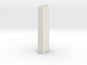 ZV1M6 Modular viaduct 1 track in White Natural Versatile Plastic