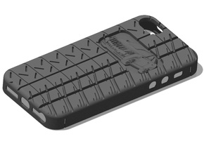 iPhone 5 Cadillac CTS PSC in Black Natural Versatile Plastic