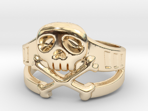 Space Captain Harlock | Ring size 10 in 14K Yellow Gold: 10 / 61.5