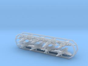 Buccaneer RAF w/gear x8 (FUD) in Smooth Fine Detail Plastic: 1:700