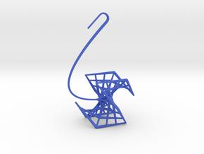rose (medium) in Blue Processed Versatile Plastic