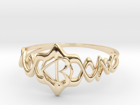 MotherRing in 14K Yellow Gold