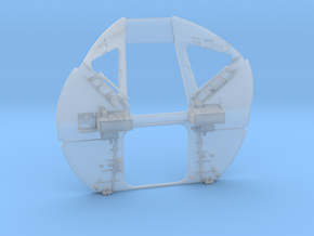 F01-Hatch Wall in Smooth Fine Detail Plastic