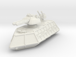 MG144-ZD02 Zangrin Battle Wagon in White Natural Versatile Plastic