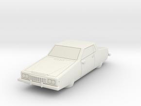 AC13 GT Air Car (28mm) in White Natural Versatile Plastic