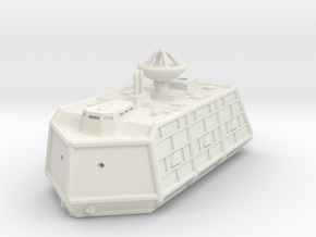MG144-ZD03 Bane Gorr Command Vehicle in White Natural Versatile Plastic